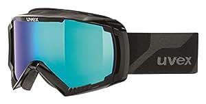 Uvex Apache 2 Ski Google - Black, Size 2