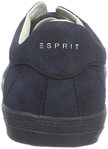 Esprit Miana Lace Up, Baskets Basses Femme Bleu (400 navy)