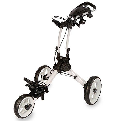 ClicGear ROV1C Carros De Golf, Unisex Adulto, Blanco, Regulable