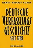 Deutsche Verfassungsgeschichte seit 1789, in 8 Bdn, Bd.7, Ausbau, Schutz und Untergang der Weimarer Republik - Ernst R Huber