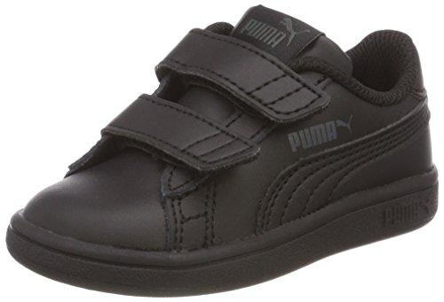 Puma Unisex Baby Smash V2 L V Inf Sneaker, Schwarz Black Black 1, 21 EU