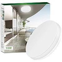 LE 15W LED Ceiling Lights Waterproof IP54 22cm Daylight White 5000K 1250lm  sc 1 st  Amazon UK & Amazon.co.uk | Ceiling Lighting