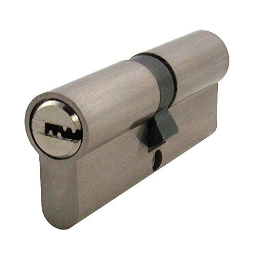 1 x Zylinderschloss 80 mm mit jeweils 5 Schlüssel für das Schloss 40x40mm