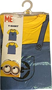 Despicable Me Minion Costume T-Shirt also suitable for Dress Up