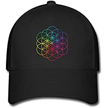 Feruch Coldplay Tour A Head Full of Dreams Custom Printing Baseball Caps Sun Hats Black