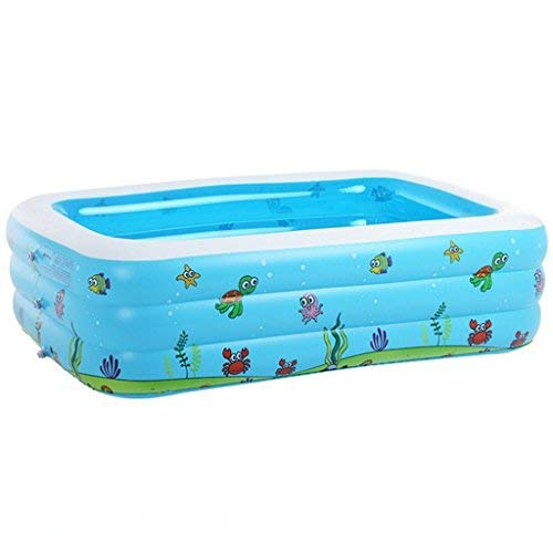 LQQGXL Bath Inflatable Pool Children Ocean Ball Bath Cartoon Bathtub Inflatable Bathtub (Size : 1109046cm)