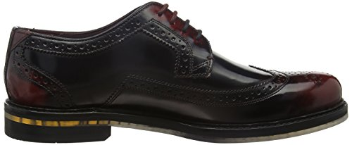 Ted Baker 915866, Scarpe Brogue Uomo Rosso(Dk Red)