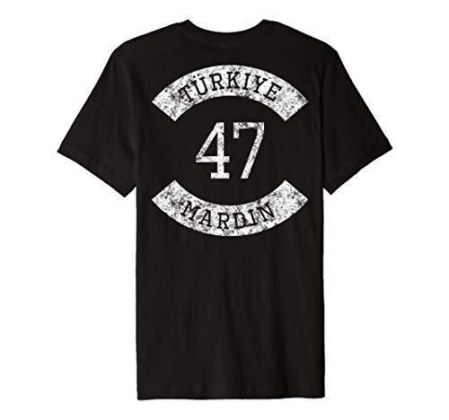 Türkiye 47 Mardin T-Shirt Ayyildiz Türkei Geschenk