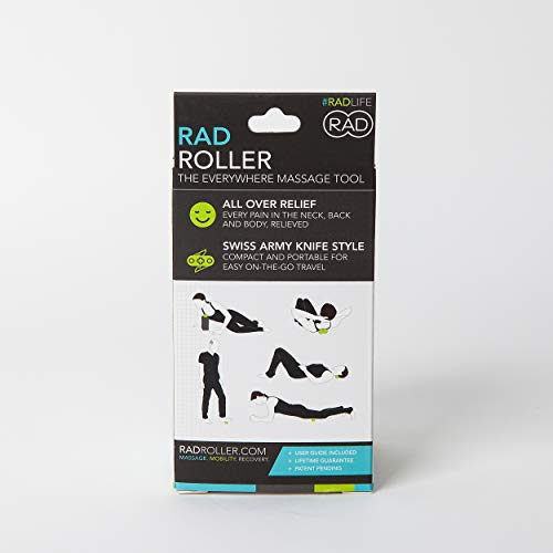 RAD-Roller-I-Myofascial-Release-Tools-I-Medium-Density-I-Self-Massage-Mobility-and-Recovery-Green