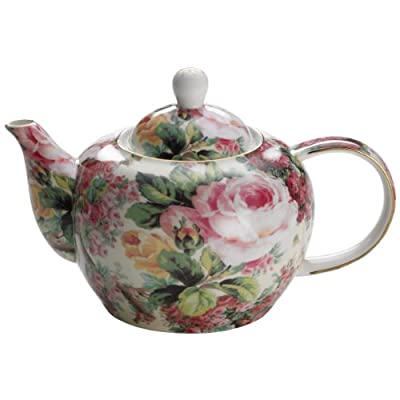 Royal Old England Teekanne Wildrose, en cadeau