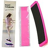 BESYZY Ballet Equipaggiamento Kit - Ballet Turn Board Turning Board Ballet Pirouette Board & Banda Elastica Danza Balletto Fascia Elastica Balance Board Ballet Training Allenamento Esercizio