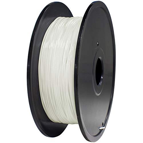 GEEETECH TPU filament 1.75mm Weiß, Flexible 3D Drucker Filament 400g 1 Spool