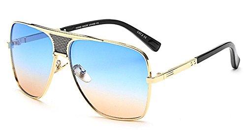 SHIQUNC Sonnenbrille im Freien Trend Retro Herren Sonnenbrille, 003