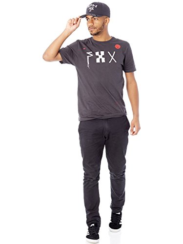 Fox-T-Shirt-Dark-Moon-Premium-Nero-Vintage