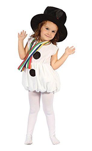 Bristol Novelty CC311Snow Mädchen Kleinkinder Kostüm, Alter: ca. 2-3Jahre, Schnee Mädchen Kleinkinder Kostüm
