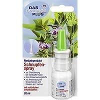 Preisvergleich für DAS gesunde PLUS Nasenspray Schnupfenspray, 20 ml Medizinprodukt