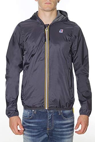 K-Way Giacca Uomo Jacques Nylon Jersey K007A10 PESN WPP Grey Anthracite, L MainApps