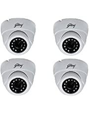 Godrej Security Solutions Seethru HD IR CCTV Camera (1MP GO