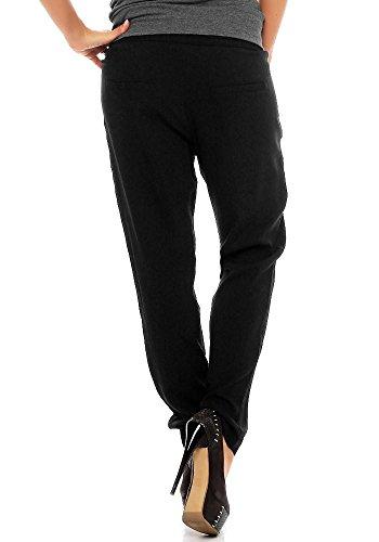 Sublevel Damen Hose LSL-207 mit tiefem Schritt Black