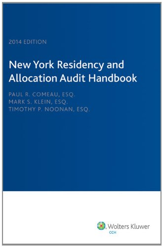 New York Residency and Allocation Audit Handbook (2014)