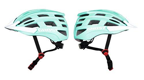 GHOST Youth Helm - in blau/weiß - Größe 54-58 cm - Fahrradhelm