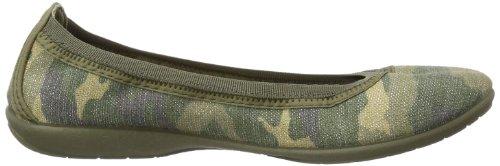 Gabor Home 4003-5, Pantofole donna Verde (Grün (verde))