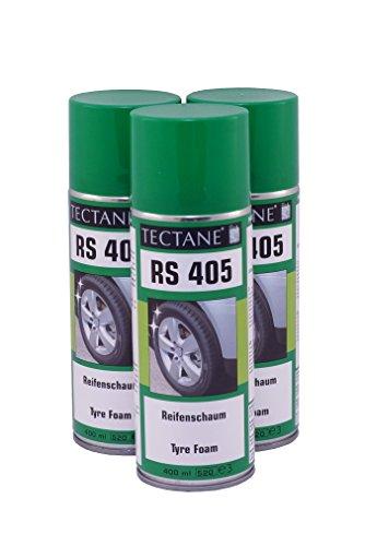 TECTANE Reifenschaum Spray RS405 400ml 3X 400ml