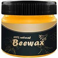 Cavestoff, cera per la pulizia di mobili in legno, cera d'api per la cura dei mobili, cera d'api impermeabile per legno e mobili Beewax Colori assortiti.