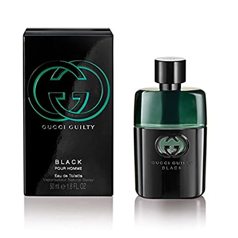 Gucci Guilty Pour Homme Black EDT 50 ml, 1er Pack (1 X 50 ml)