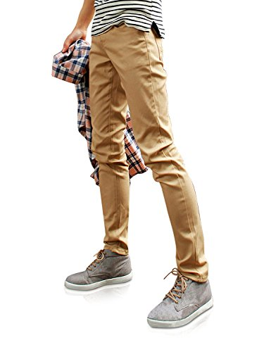 Demon&Hunter 910X Slim-Fit Series Men's Stretch Casual Pants