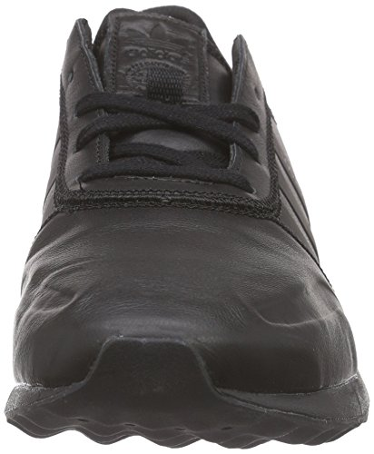 adidas Originals Los Angeles, Baskets Basses Homme Noir - Schwarz (Core Black/Core Black/Core Black)