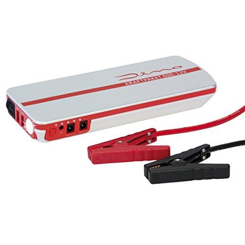 12-volt-power-pack (Dino KRAFTPAKET 12V-600A Starthilfgerät 66.6Wh 18000mAh)