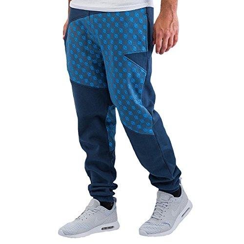 Dangerous DNGRS Uomo Pantaloni / Pantalone ginnico Small Symbols Blu