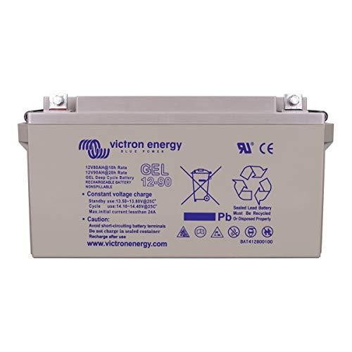 La batería Victron Gel 12V de 90Ah es la batería de calidad superior de gel. Sólo, permite alimentar sus poderosos Kit de 145W... En Doble, le ofrecerá la posibilidad de almacenar sin preocupación la energía producida por un panel solar de 250W.L...