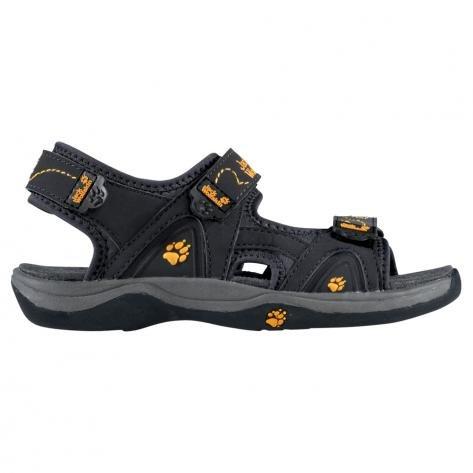 Jack Wolfskin Kinder Sandale 42911 31 Schwarz