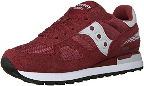 Saucony Shadow Original, Zapatillas para Hombre, Rojo (Red), 42.5 EU