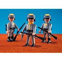 PLAYMOBIL 7046 - 3 Soldados Confederados
