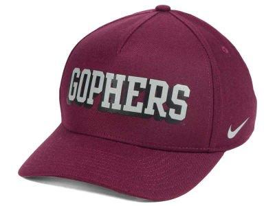 Nike Minnesota Golden Gophers (Fernsehserie Dri-Fit DNA Verbiage Flex-fit Hat Cap Osfm Flex Cap