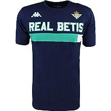 Camiseta de algodón de manga corta - Real Betis Balompié 2018/2019 - Kappa Ambra