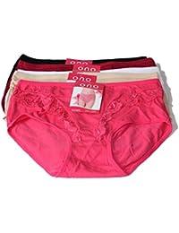 4 Set dames culottes slips Slips Hotpants Sous-vêtements en coton ONO-16