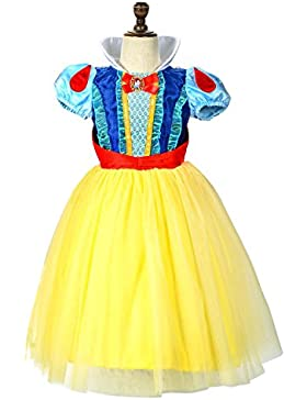 LOEL Schneewittchen Prinzessin Dress Up Coustume Party Girl Kleid
