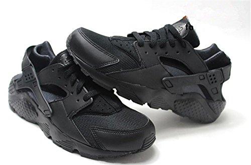 Wealsex Baskets Basse En Mesh Léger Chaussures de Sport Course Fitness Gymnastique Compétition Entraînement Respirante outdoor Homme Femme Mixte Adulte noir complet
