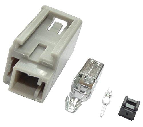 AERZETIX: Connecteur fiche prise d'antenne HRS GT-5 GT5 mâle pour câble RG174 C16591