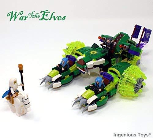f The Elfen - The Tiger Wagen - Passend Bau Block Set #B312 ()