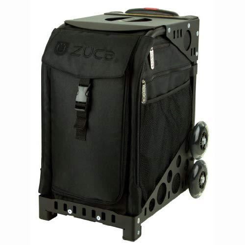 ZUCA Tasche Stealth, Black Frame w/Non-Flashing Wheels