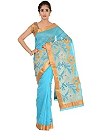 Paheli Cotton Saree (Paheli005_Blue)