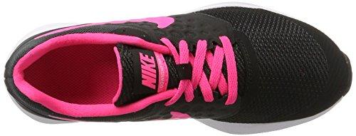 Nike 869972-002, Sneakers trail-running fille Noir (Black/racer Pink-anthracit-white)