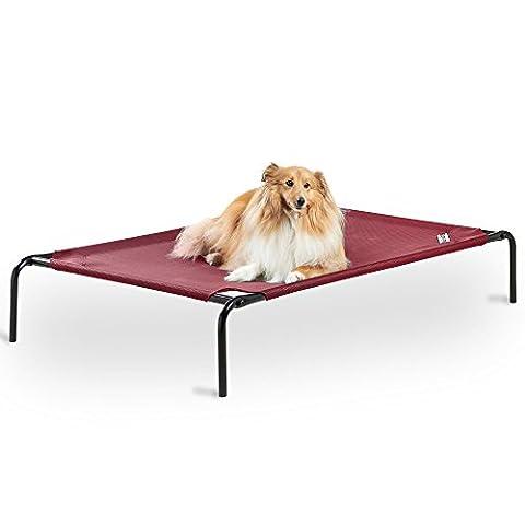Milo & Misty Lit Surélevé pour Animal Domestique - 130x80x20 cm