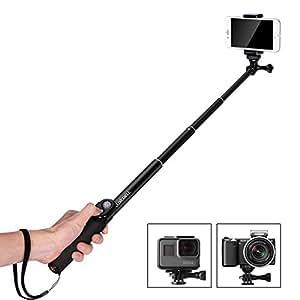luxebell selfie stick handheld monopod 40 5 for camera photo. Black Bedroom Furniture Sets. Home Design Ideas