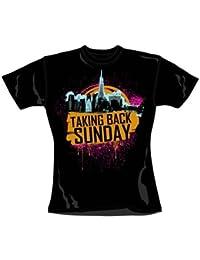 Taking Back Sunday City Splat T-shirt - Large